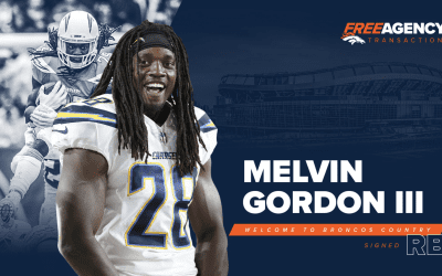 Broncos officially sign RB Melvin Gordon to two-year deal