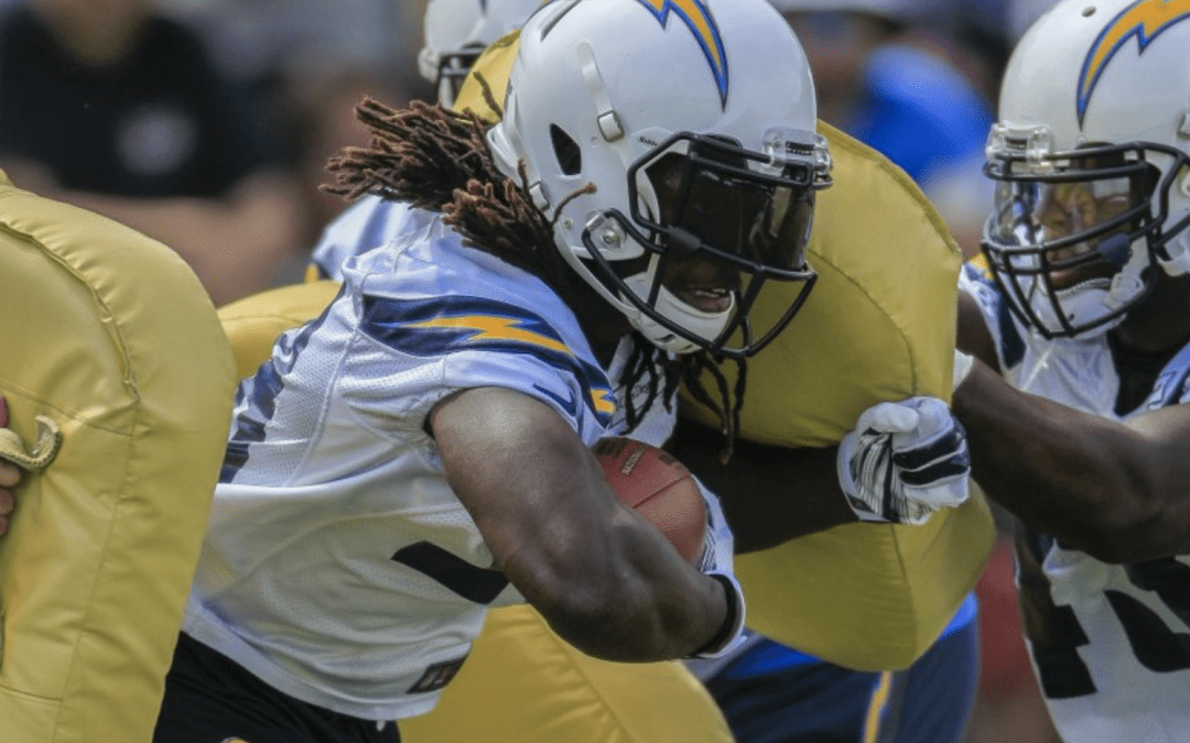 Melvin Gordon and The Hill he climbed