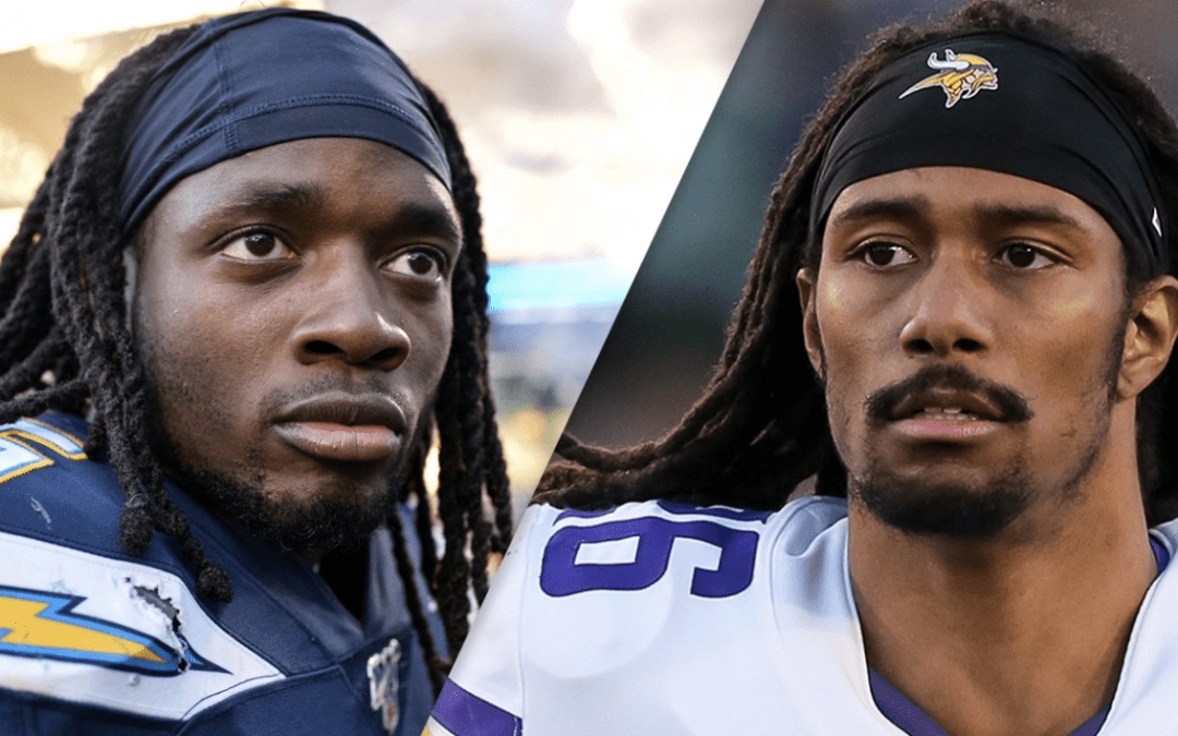 Melvin Gordon and Trae Waynes can't believe what's going on in their hometown of Kenosha, Wisconsin